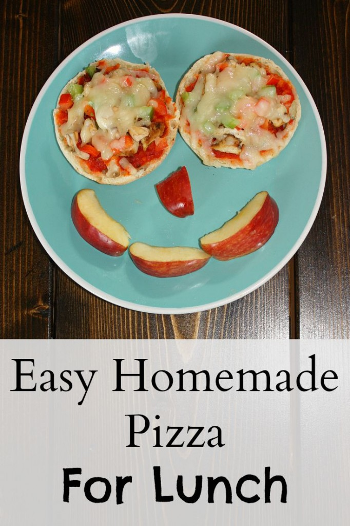 Easy Homemade Pizza For Lunch