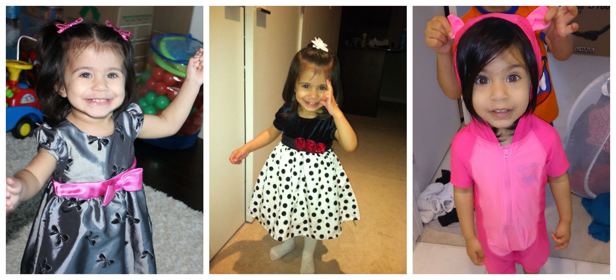 Kyah Toddler collage