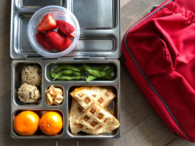 Snack Ideas for school lunches