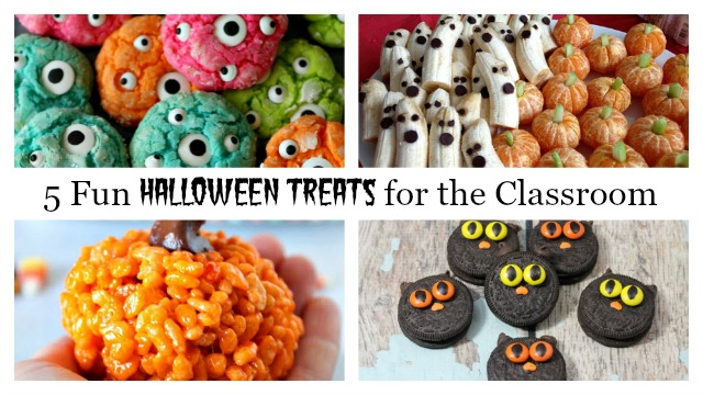 5 fun and easy halloween treats for school the write balance for Easy halloween treats for work party
