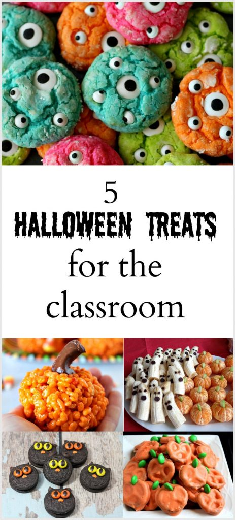 5 Fun and Easy Halloween Treats for School