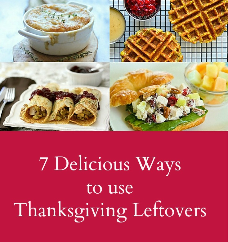 7 Delicious Ways to use Thanksgiving Leftovers 1