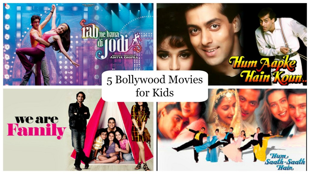 5 Bollywood Movies for Kids