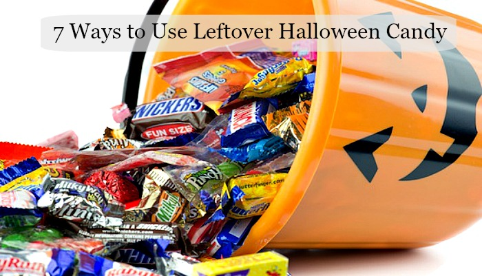 7 Ways to Use Leftover Halloween Candy