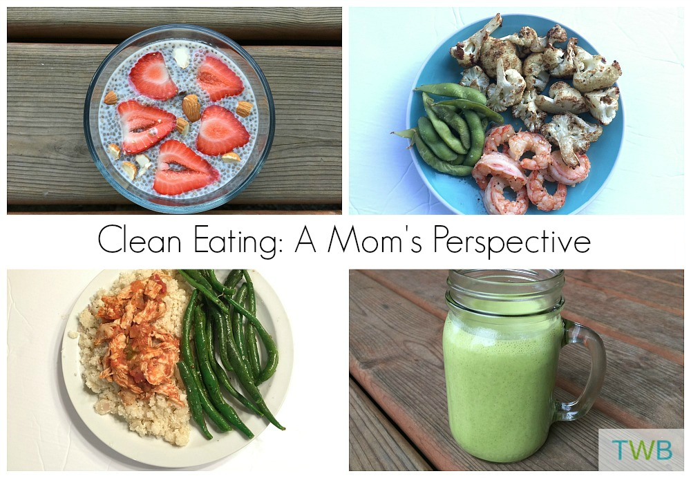 Clean eating Mom's perspective