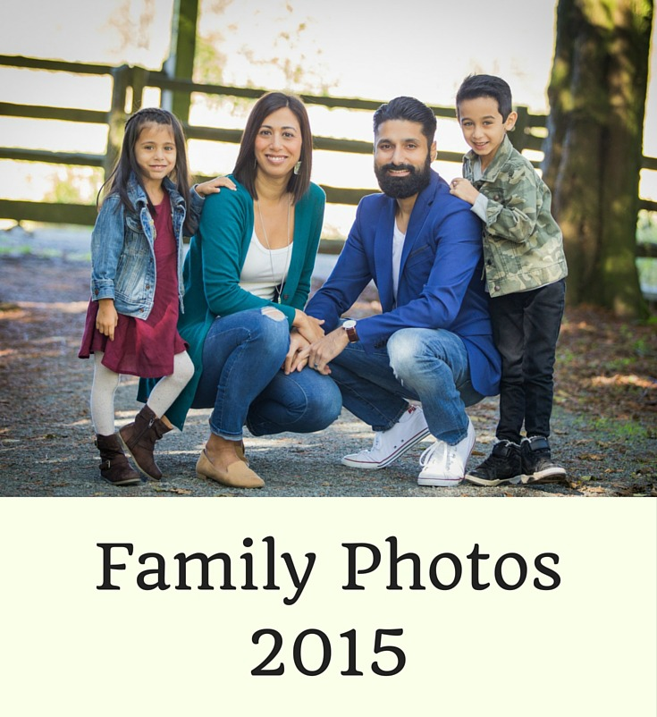 Family Photos 2015