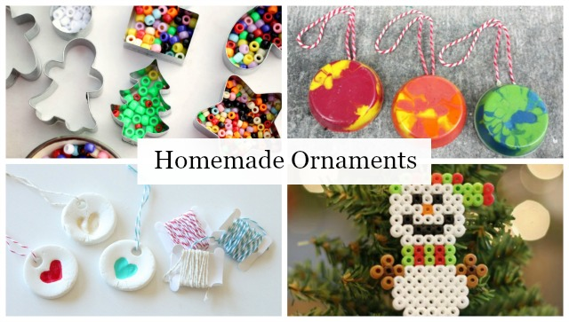 Homemade Ornament Ideas