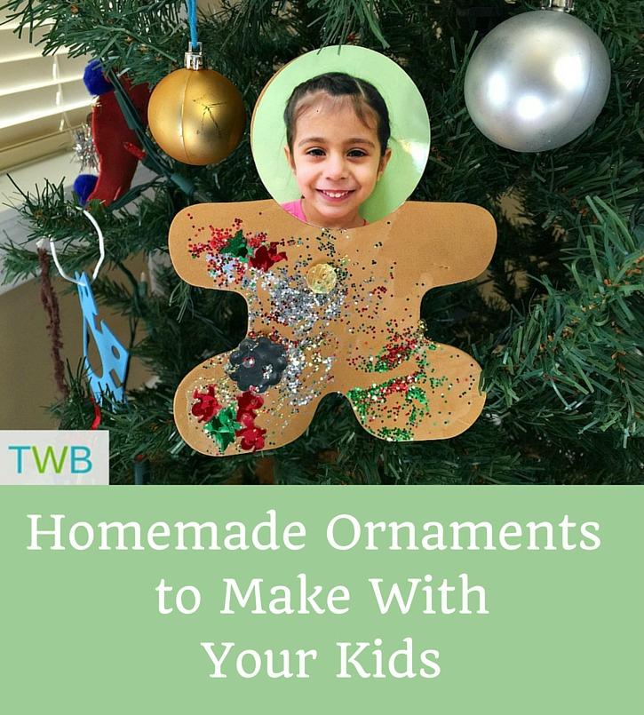 Homemade Ornaments - pinterest