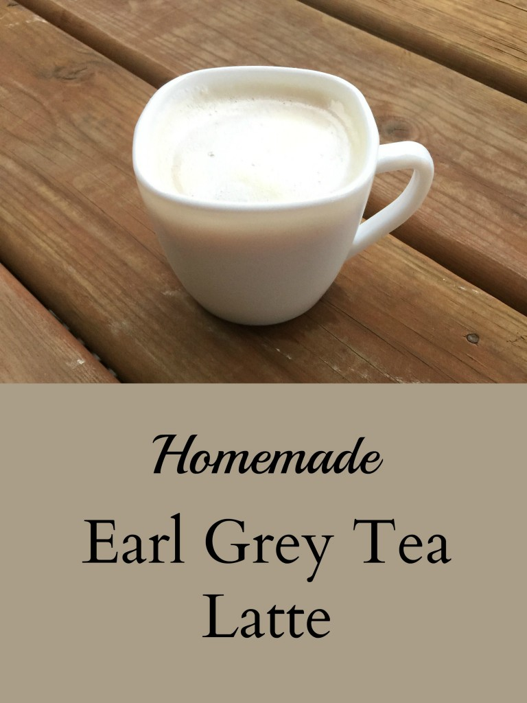 Earl Grey Tea Latte Pinterest