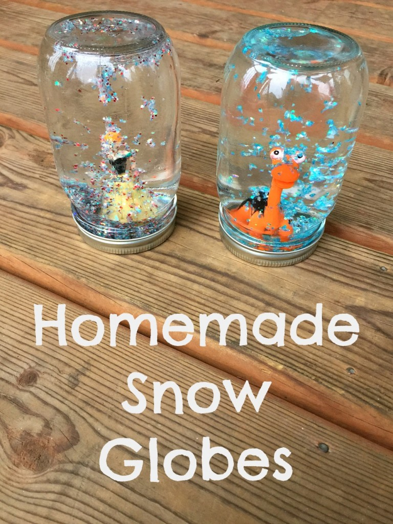 Homemade Snow Globes Pinterest