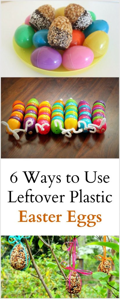 6 Ways to Use Leftover Plastic Easter Egg
