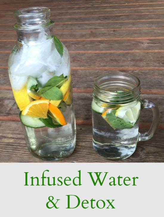 Infusing Your Water - pinterest