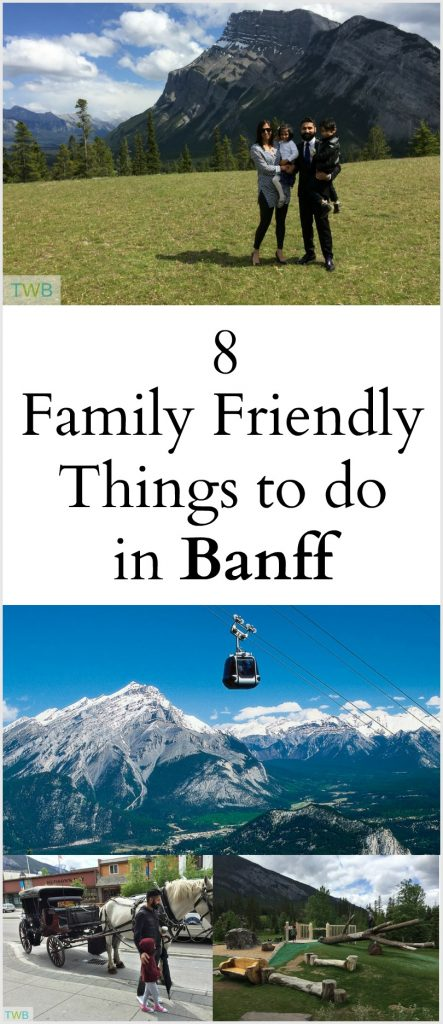 8 Family Friendly things to do in Banff