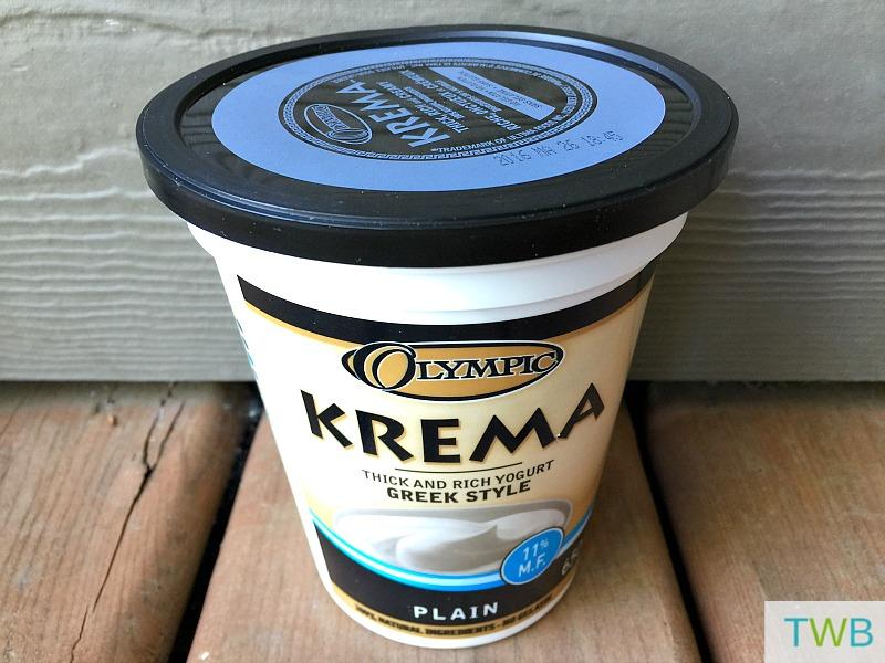 Olympic Kreme Yogurt for Sweet Lassi
