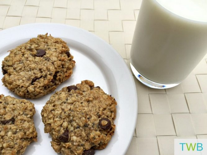 Healthy Make Ahead Breakfast Ideas - Flourless Breakfast Cookies