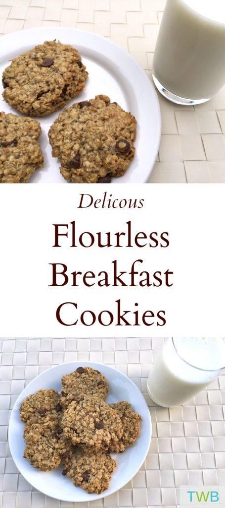 Delicious Flourless Breakfast Cookies