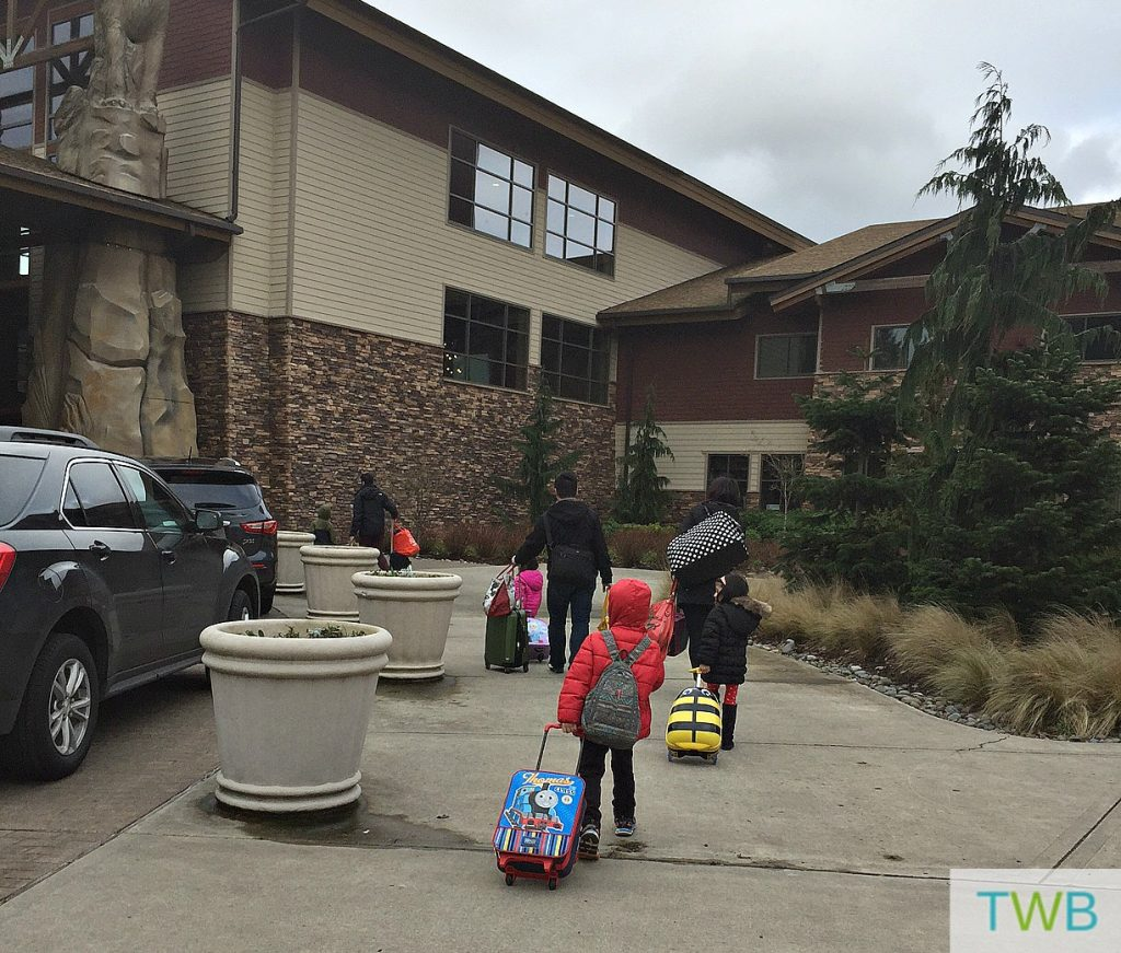 Great Wolf Lodge - arrival