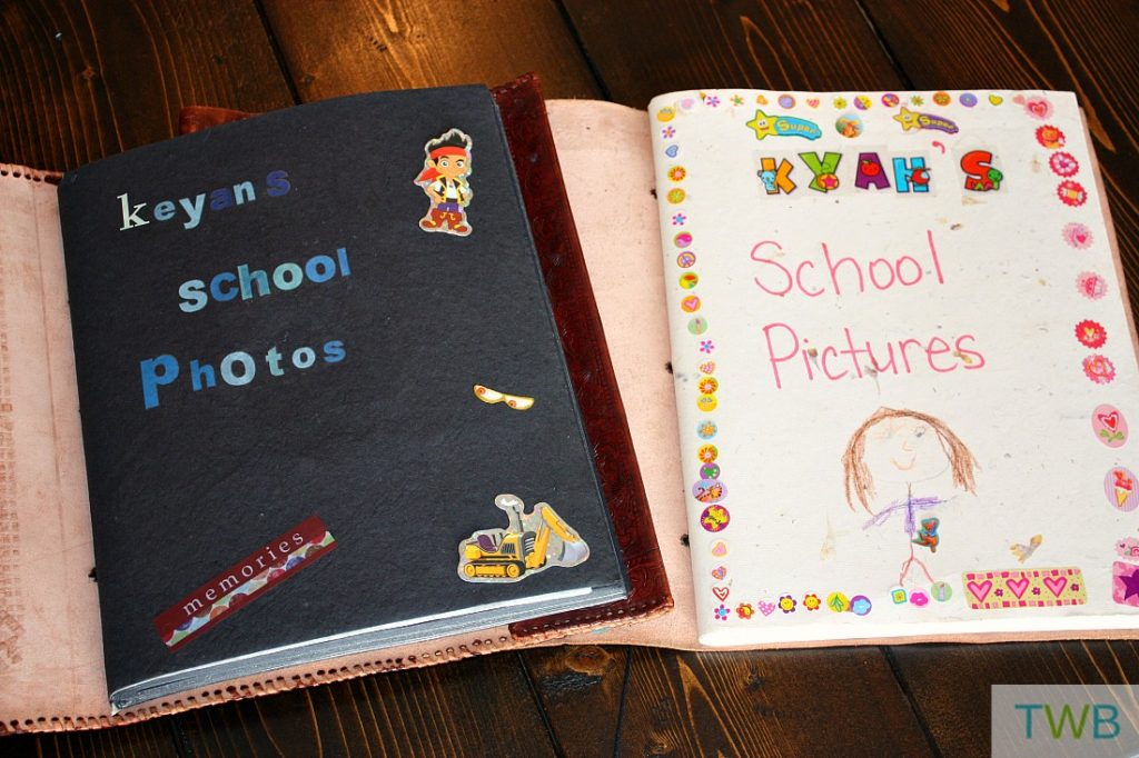 School Pictures Scrapbook The Write Balance