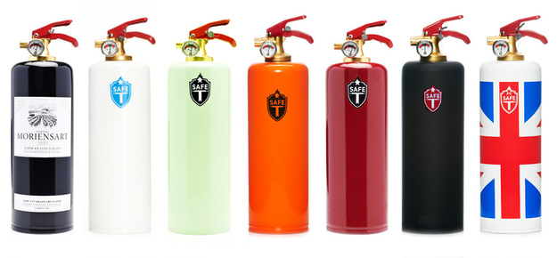 6 Awesome Housewarming Gift Ideas - cool fire extinguisher