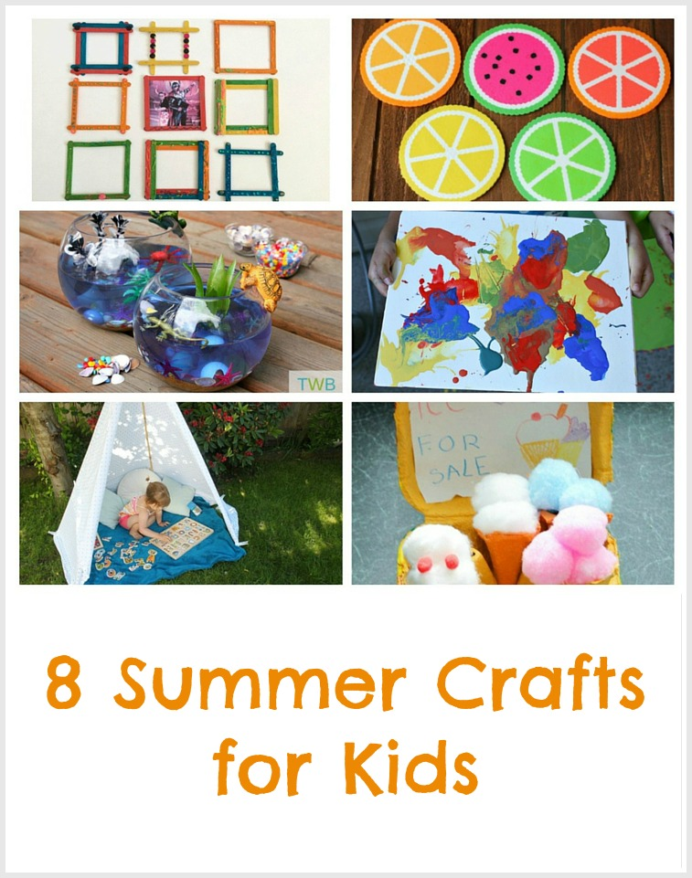 8 Fun Summer Crafts The Write Balance
