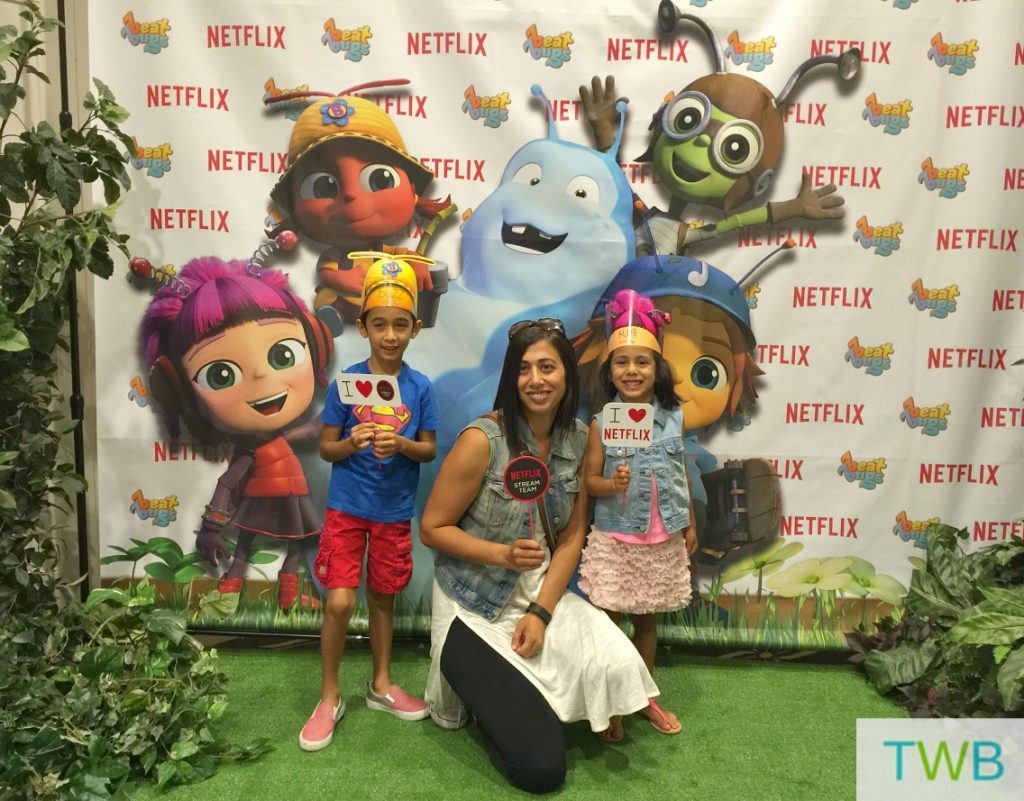 Beat Bugs on NEtflix - photo booth