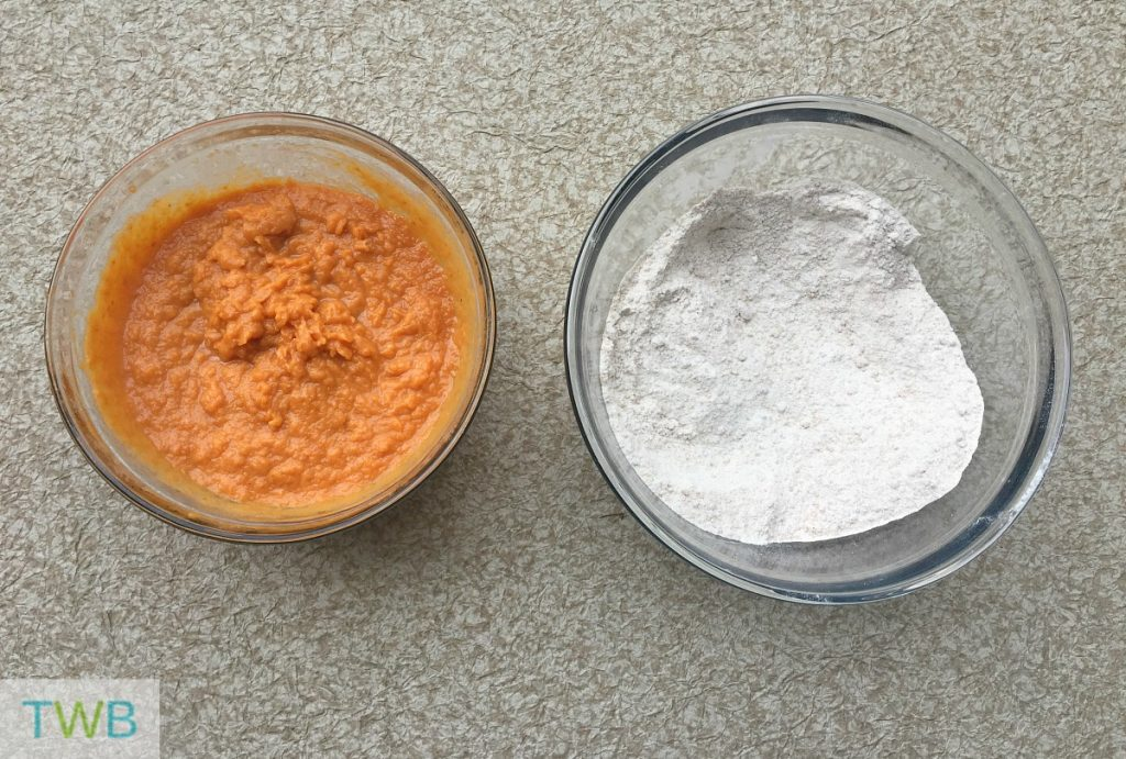 Pumpkin Muffins - mixture
