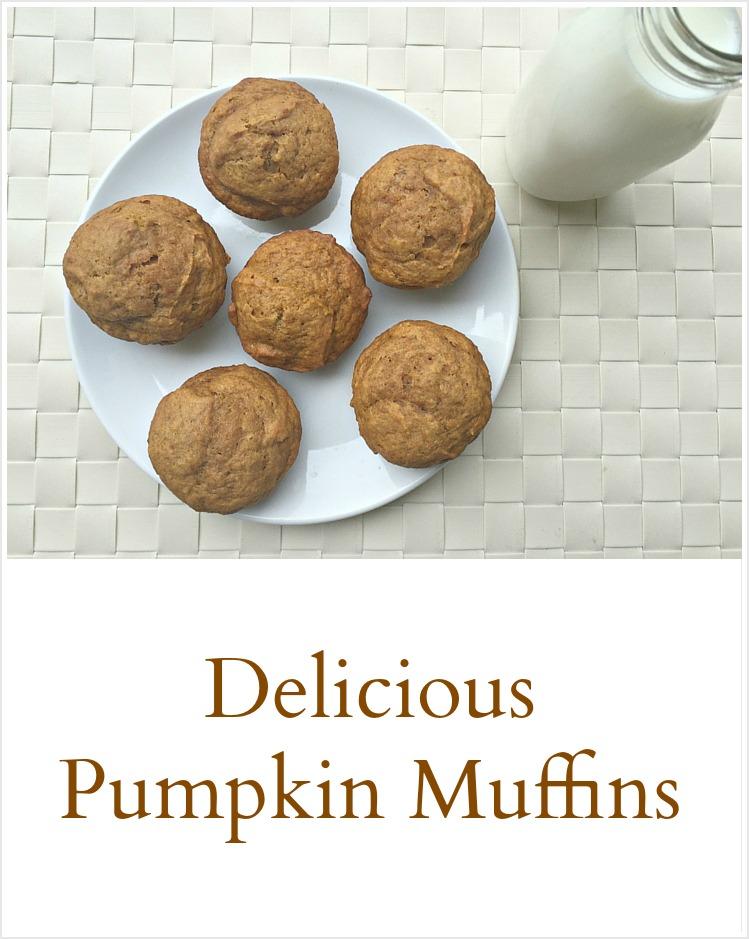 Pumpkin Muffins - pinterest
