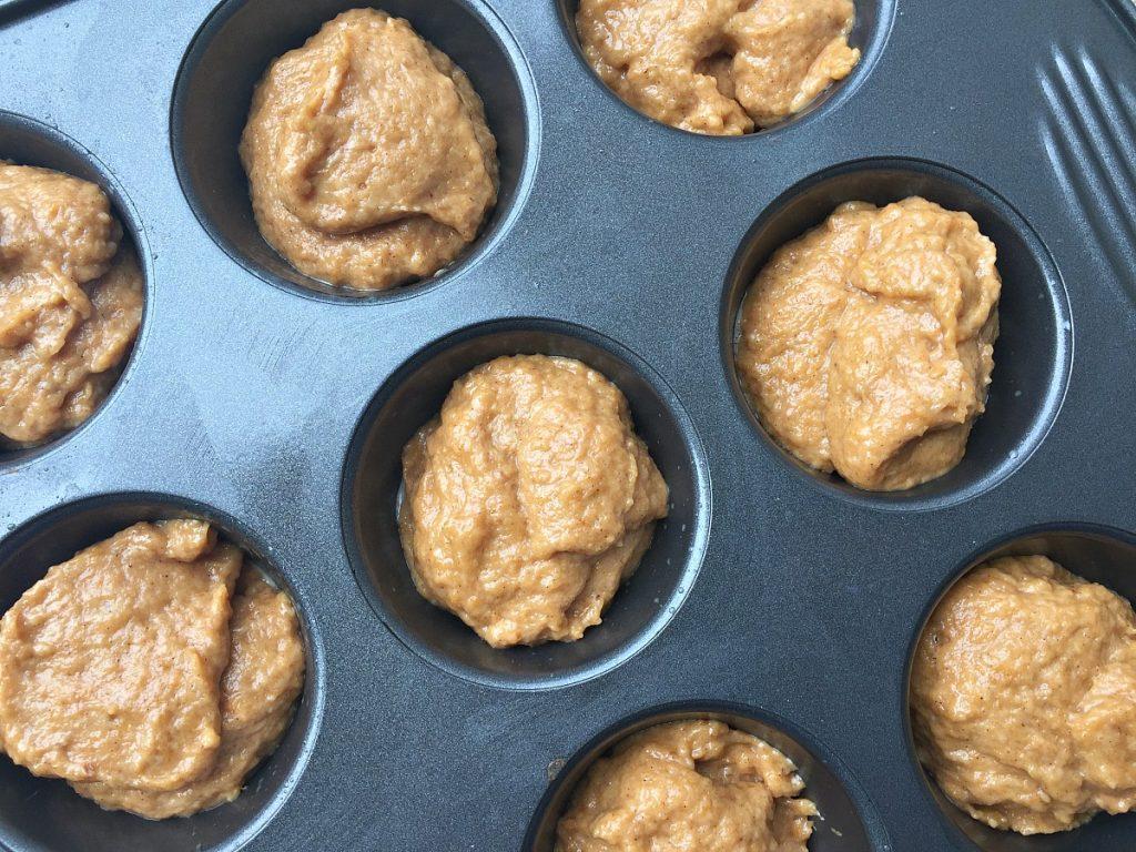 Pumpkin Muffins - tray