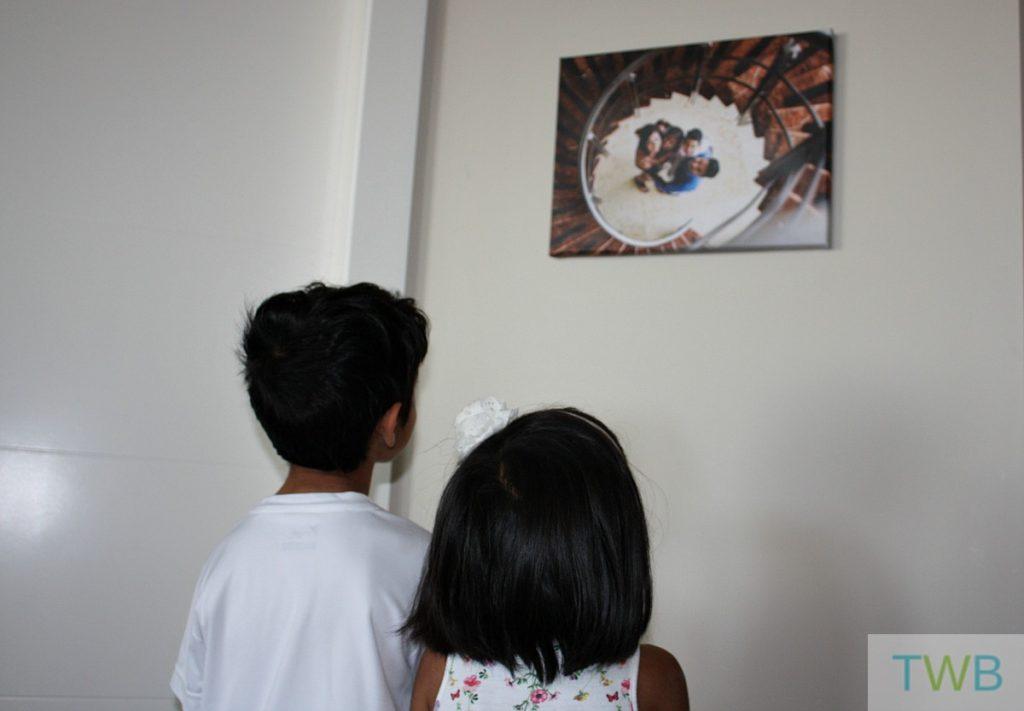 Family Photos - on the wall