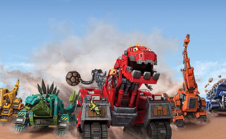NEtflix French shows - Dinotrux