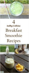 4 Awesome Breakfast Smoothies to try