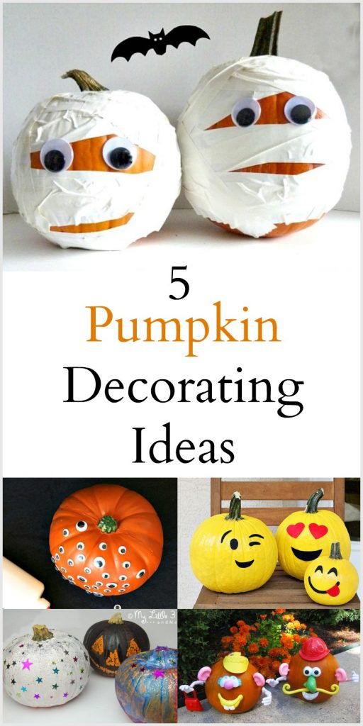 5 Pumpkin Decorating Ideas