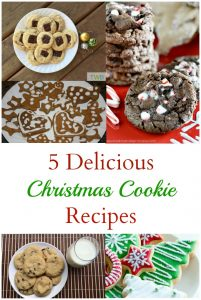 5 Holiday Cookie Recipes to try