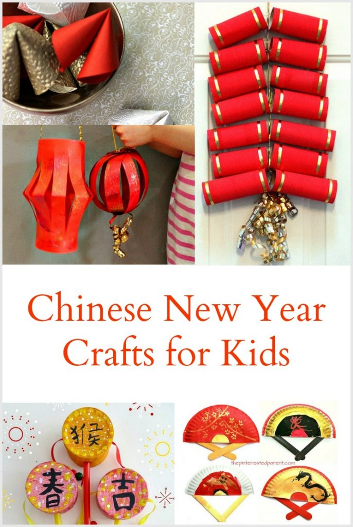 5 Chinese New Year Crafts for Kids - Pinterest