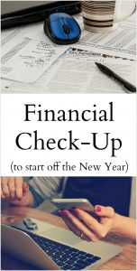 Financial Check Up for the New Year