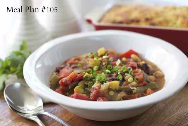 Meal Plan 105