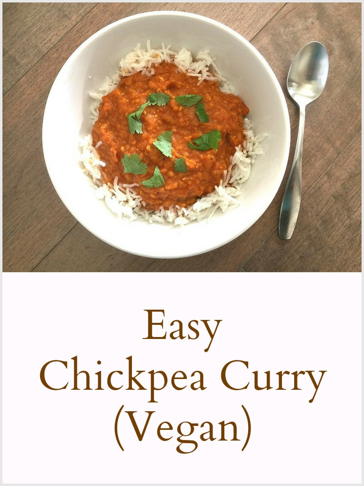 Vegan Chickpea Curry - Pinterest