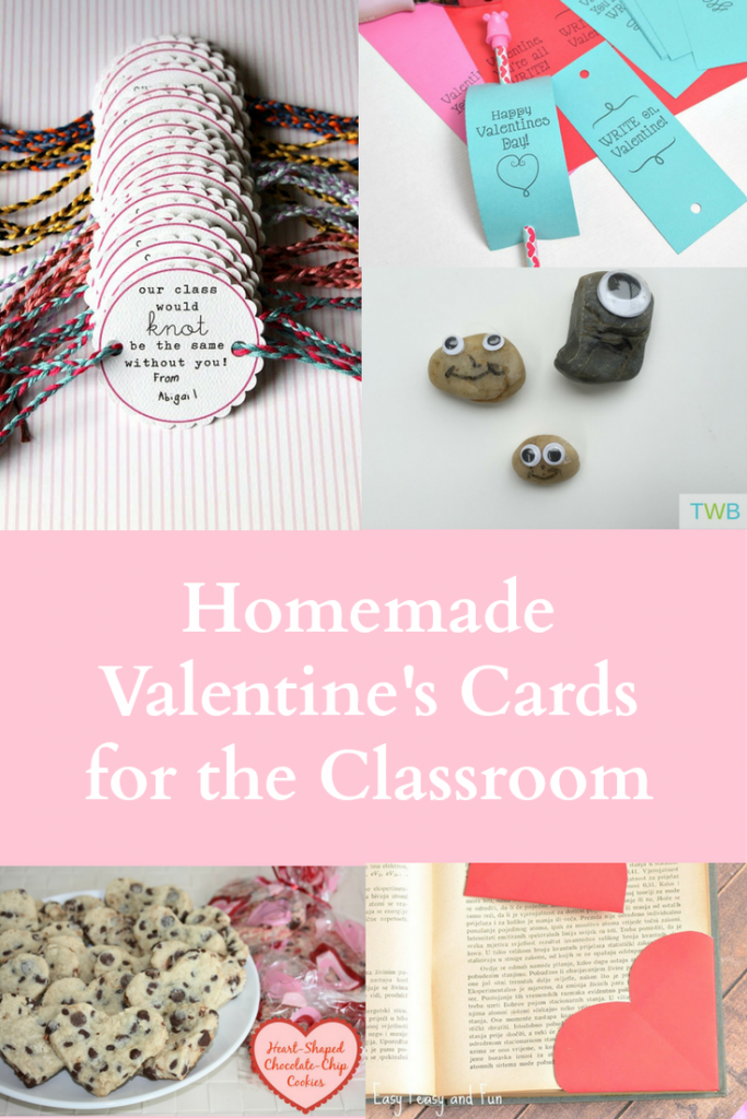 5 Homemade Valentine's Day Cards for School
