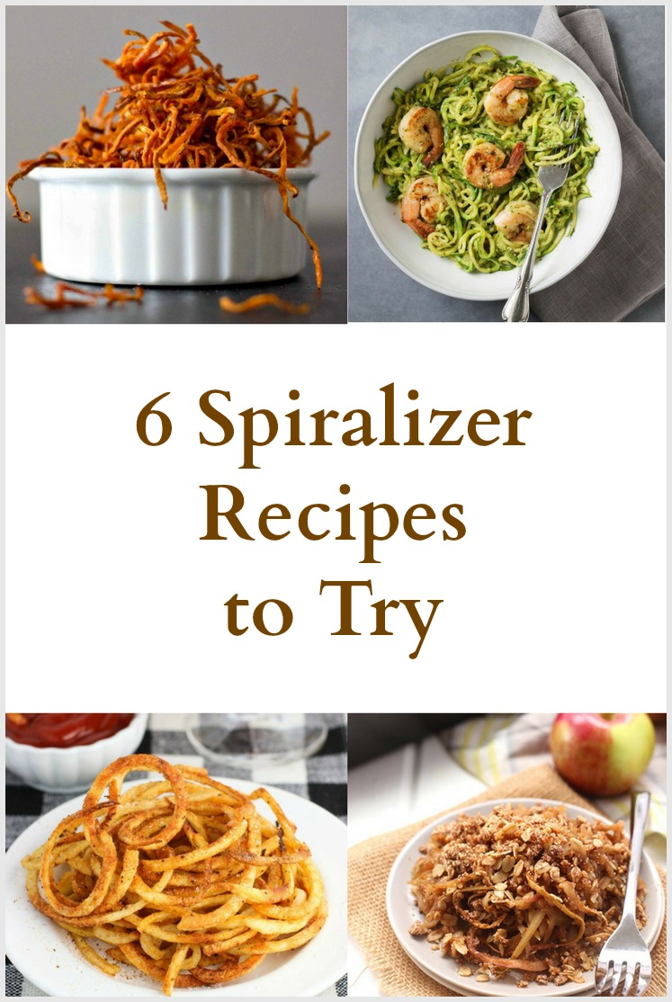 6 Spiralizer Recipes to Try - Pinterest