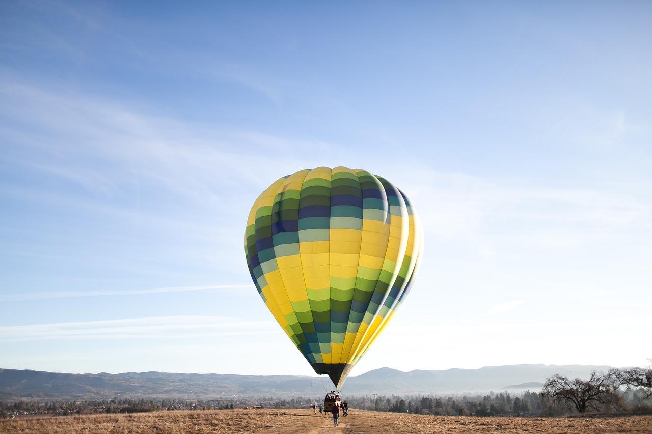 Birthday experince - hot air balloon ride