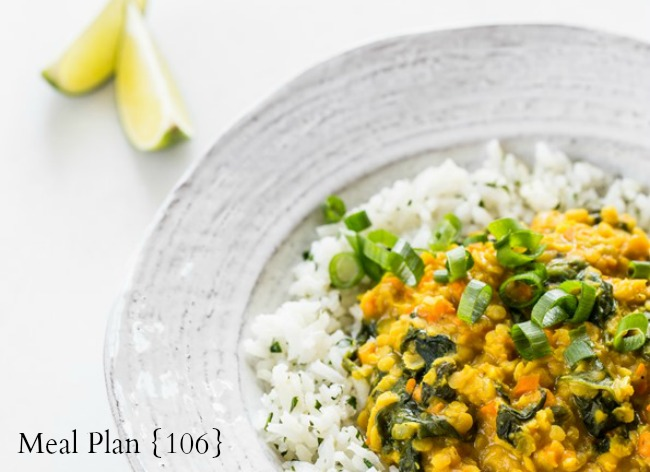 Meal Plan 106 - feature photo