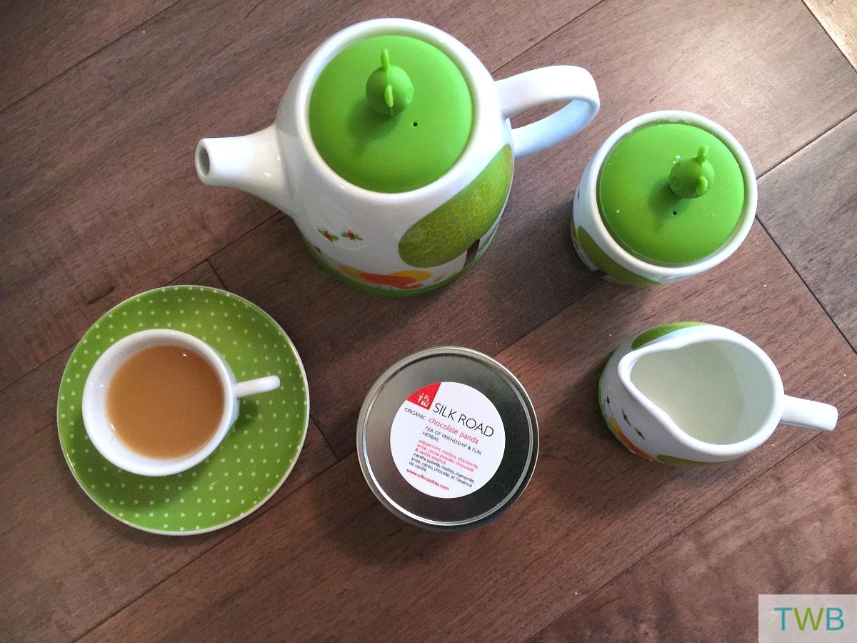 Silk road - tea set