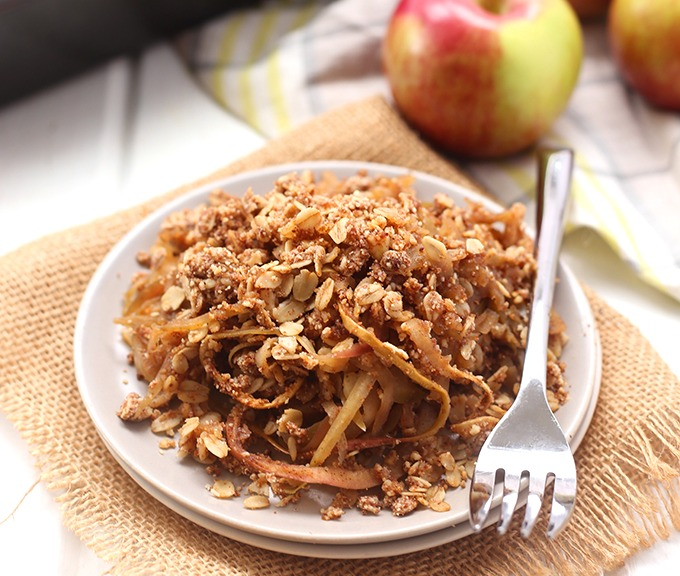 Spiralized-Apple-Crumble
