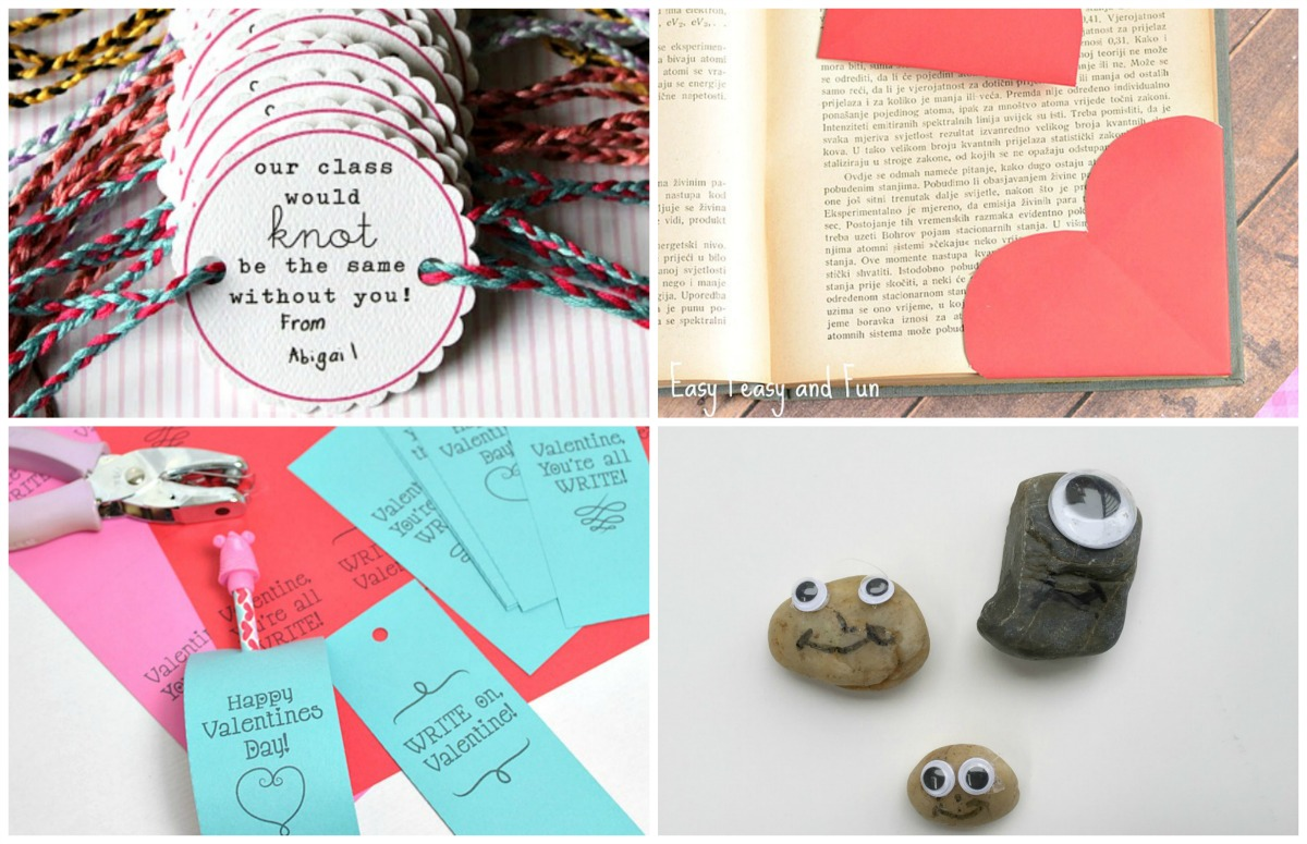 5 homemade valentine 39 s day cards for school for Valentines day trip ideas