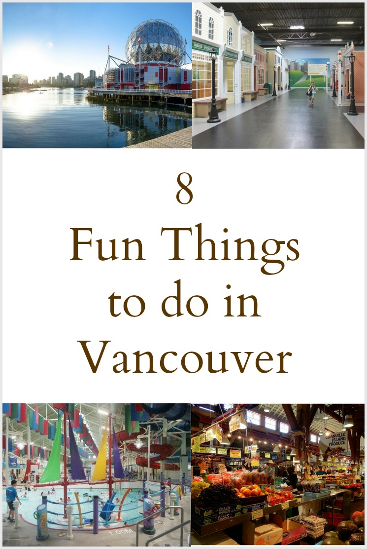 Family Friendly things to do in Vancouver- Pinterest