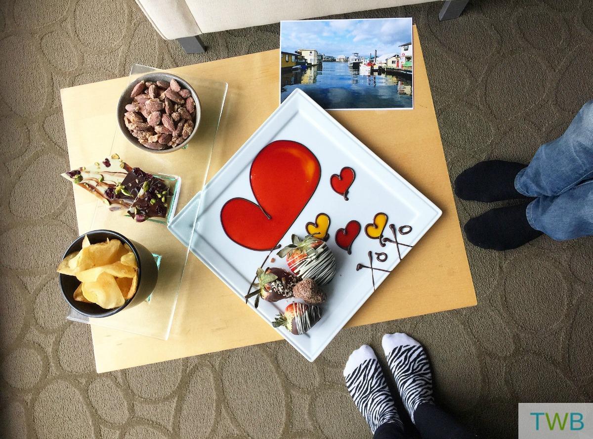 Victoria - delta hotel treats