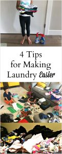 4 Tips for Making Laundry Easier