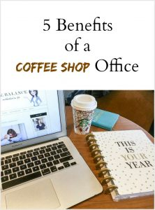 5 Benefits of a coffee shop office