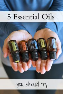 5 Essentail Oils to try