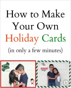 DIY Family Holiday Cards